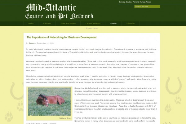 Mid Atlantic Equine and Pet Network
