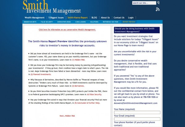 Smith Investment Management